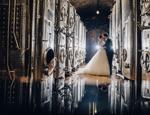 Svatba ve vinařství Nosreti v Zaječí