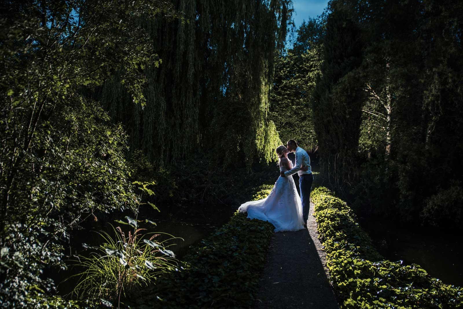 Svatba v Yard Resortu v zahrade