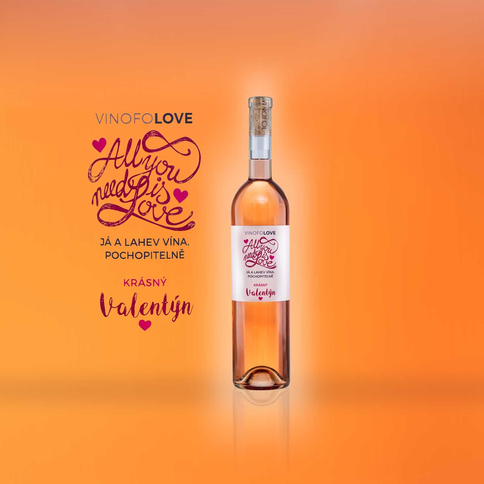 reklamní produktová fotografie vína
