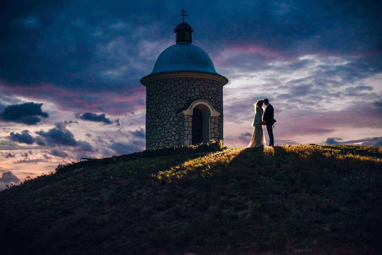 Svatba ve Velkých Bílovicích-fotograf Brno